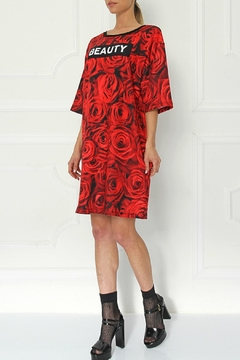 Shoptiques Product: Beauty Roses Tunic Dress