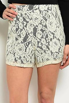 Shoptiques Product: Crochet Lace Shorts