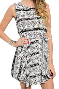 Inance Geo Print Dress - Product List Image