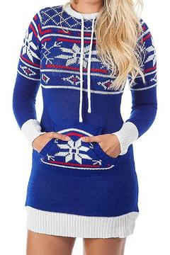 Shoptiques Product: Holiday Sweater Dress