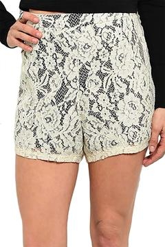 Shoptiques Product: Lace Crochet Shorts