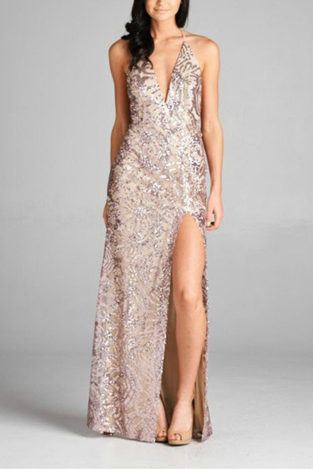 Inance Long Sequin Gown from Florida — Shoptiques