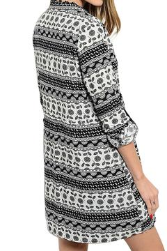 Inance Pattern Print Dress - Alternate List Image