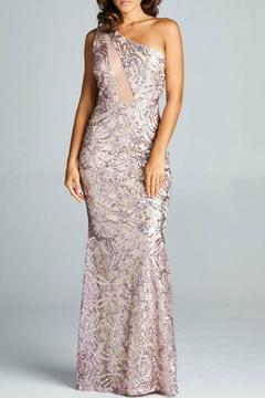 Inance Sequined Long Gown - Product List Image