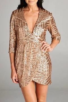 Inance Sequined Mini Dress - Product List Image