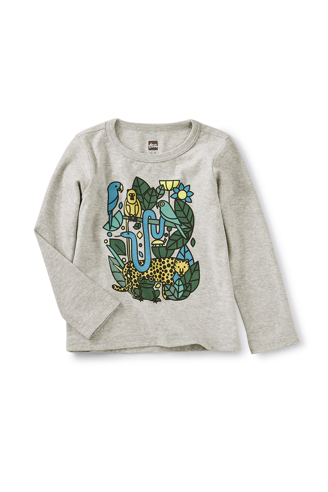 Tea Collection Incan Animals Graphic Tee - Front Cropped Image