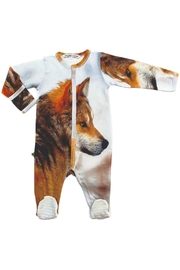 Inchworm Alley Lone Wolf Onesie - Product Mini Image
