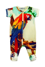 Inchworm Alley Macaw Onesie - Product Mini Image