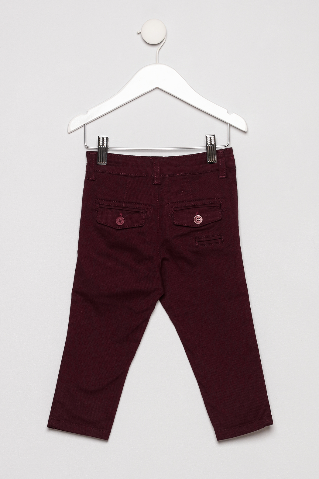 Incity Flat Front Pants - Back Cropped Image