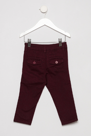Incity Flat Front Pants - Back cropped