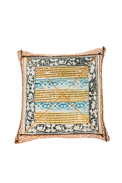 Shoptiques Product: Block Print Cushion