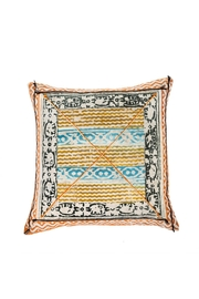 Indaba Block Print Cushion - Product Mini Image