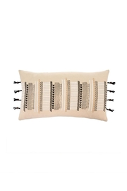 Indaba Button Tasseled Cushion - Front cropped