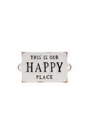 Indaba Happy Place Sign - Product Mini Image
