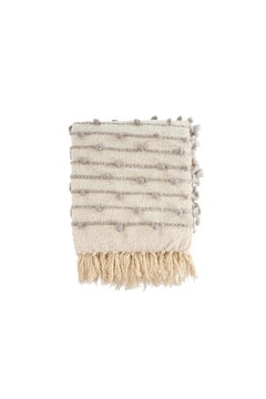 Indaba Knot & Weave Throw - Product List Image