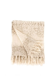 Indaba Marais Linen Throw - Product Mini Image