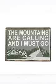 Indaba Mountains Metal Sign - Product Mini Image