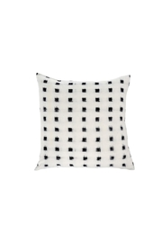 Indaba Night-Sky Ikat Cushion - Front cropped