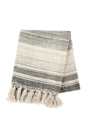 Indaba Stripe Tassel Throw - Product Mini Image