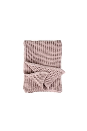 Indaba Waffle Woven Throw - Front cropped