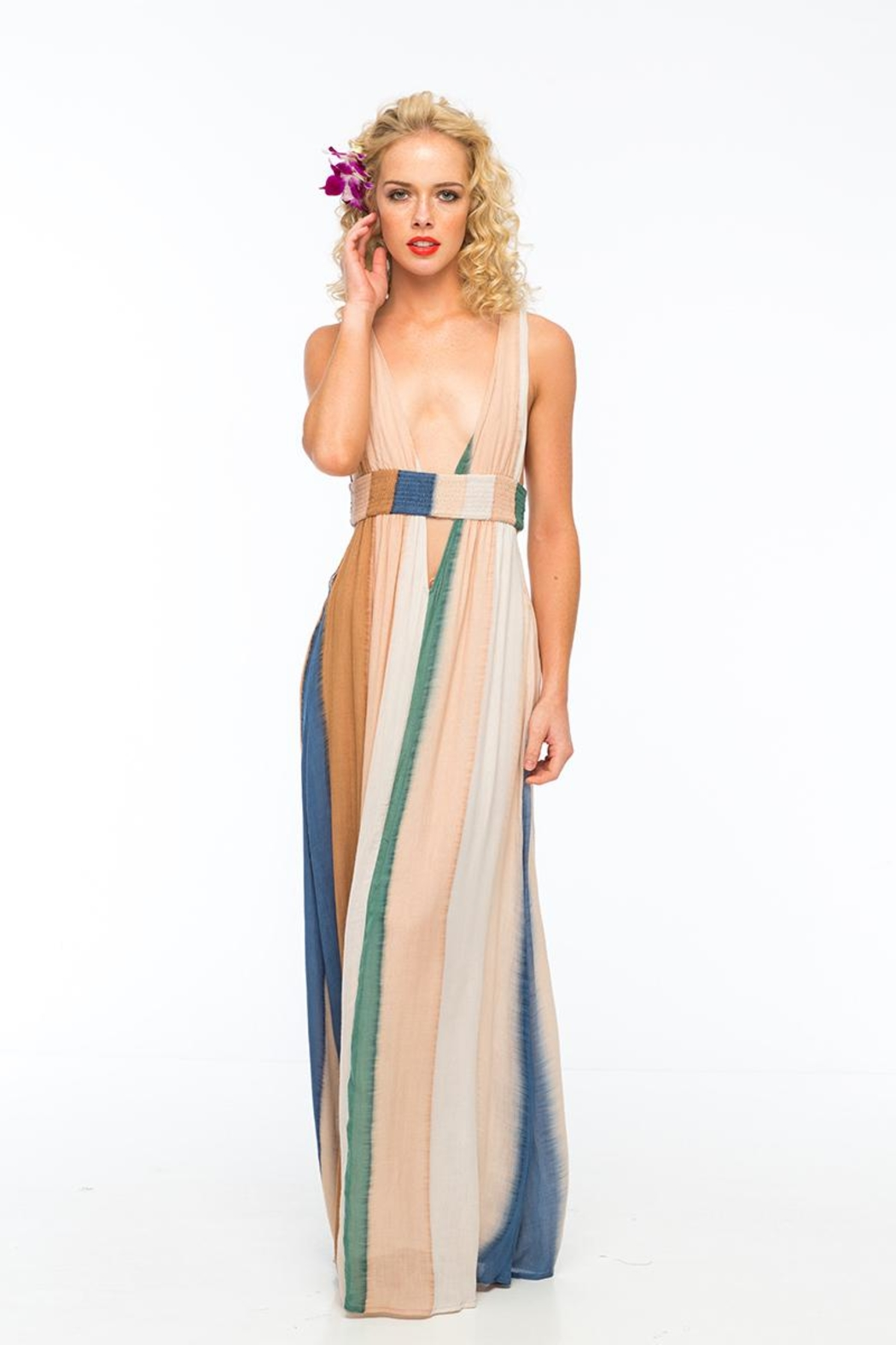 Indah Anjeli Maxi Dress - Main Image