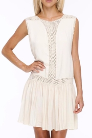 Indah Crochet Mini Dress - Front cropped