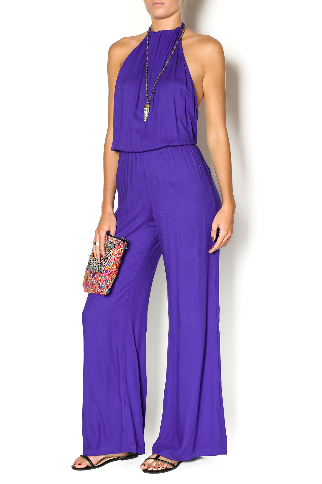 Indah Purple Jumpsuit from Texas by Confections Boutique ...