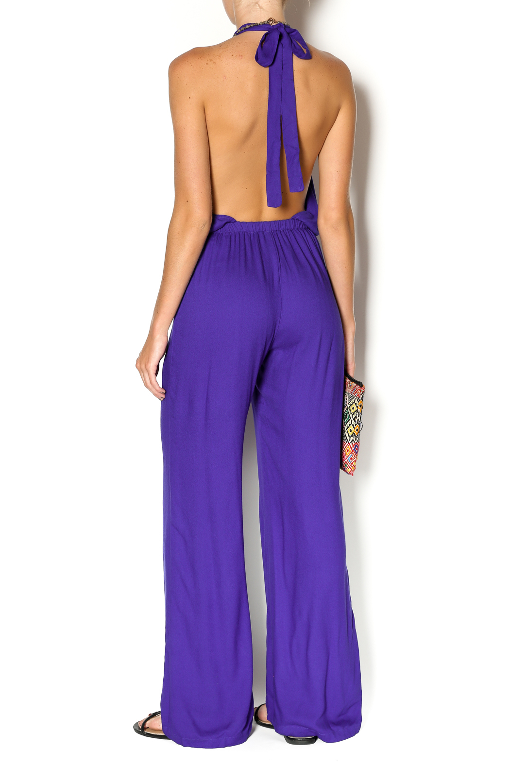 Indah Purple Jumpsuit From Texas By Confections Boutique