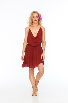 Shoptiques Product: Tahani Berry Dress