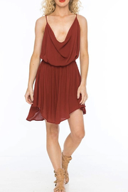 Indah Tahani Berry Dress - Product Mini Image