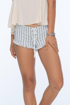 Indah Vibe Lace Up Short - Alternate List Image