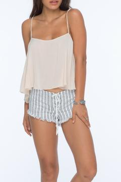 Indah Vibe Lace Up Short - Product List Image