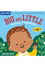 Workman Publishing Indestructibles: Big And Little - A Book Of Opposites - Product Mini Image