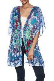 India Boutique Beaded Cover Up Caftan - Product Mini Image