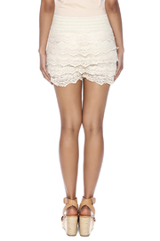 India Boutique Crochet Short - Back cropped