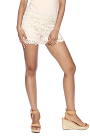 India Boutique Crochet Short - Front cropped