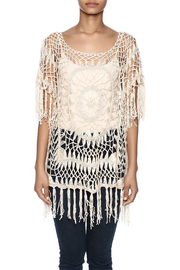 India Boutique Exquisite Crochet Top - Side cropped