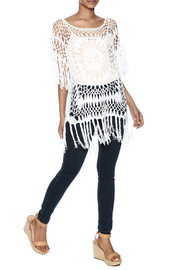 India Boutique Exquisite Crochet Top - Front full body