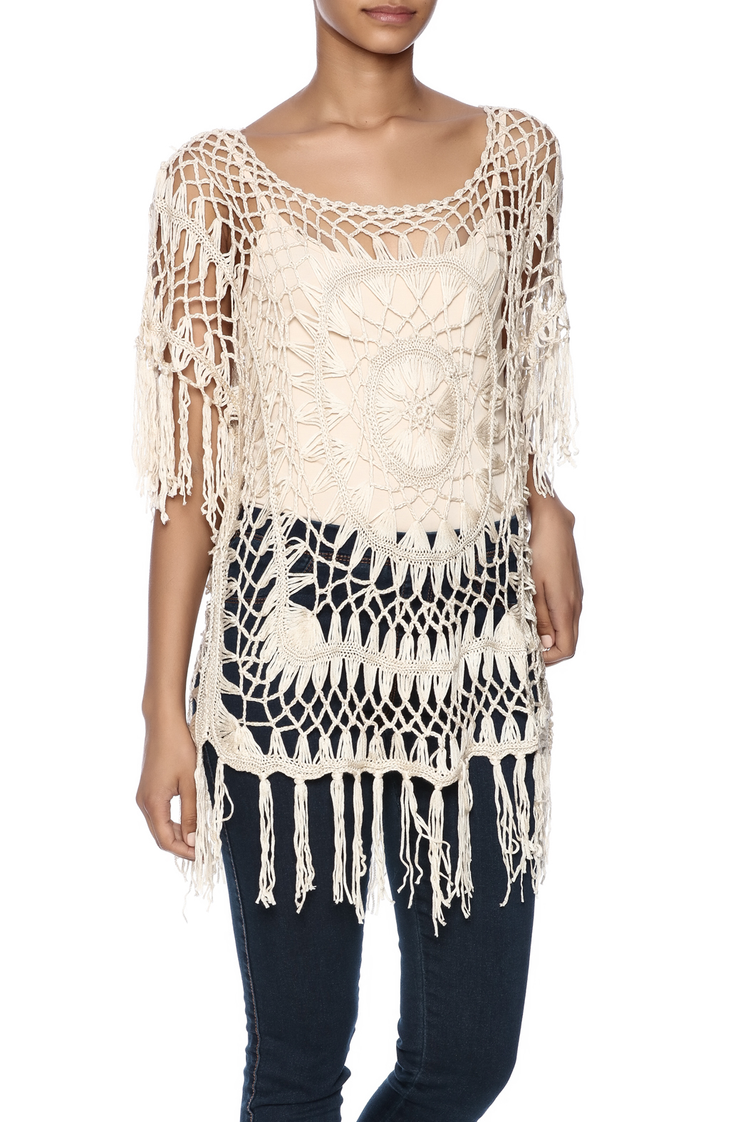 ae28b98709faa India Boutique Exquisite Crochet Top from Florida by Ocean Bri ...