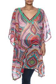 India Boutique Fabulous Cover Up Caftan - Product Mini Image