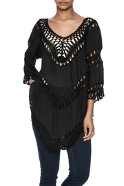 India Boutique Flawless Crochet Top - Product Mini Image
