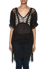 India Boutique Sexy Crochet Top - Side cropped