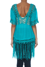India Boutique Sexy Crochet Top - Back cropped