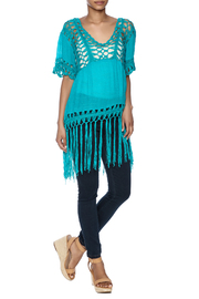 India Boutique Sexy Crochet Top - Front full body