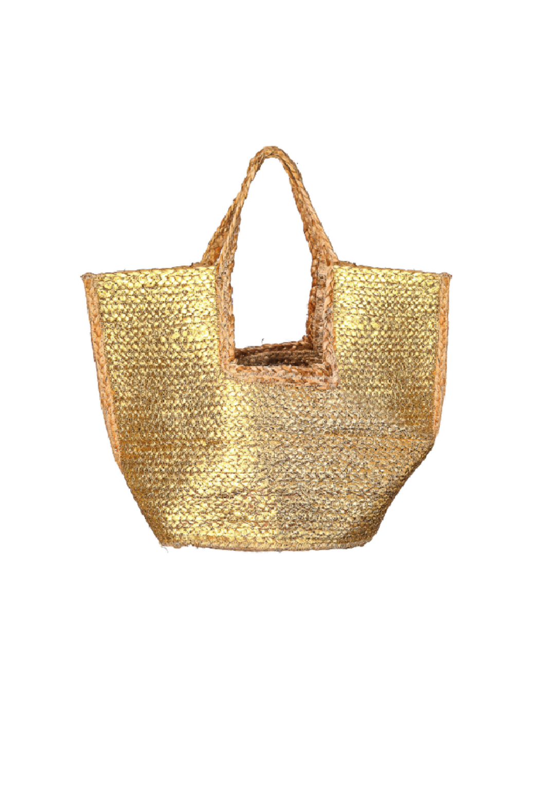 Fame Accessories India Braided Jute Tote - Main Image