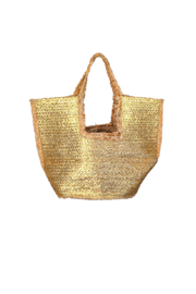 Fame Accessories India Braided Jute Tote - Product Mini Image