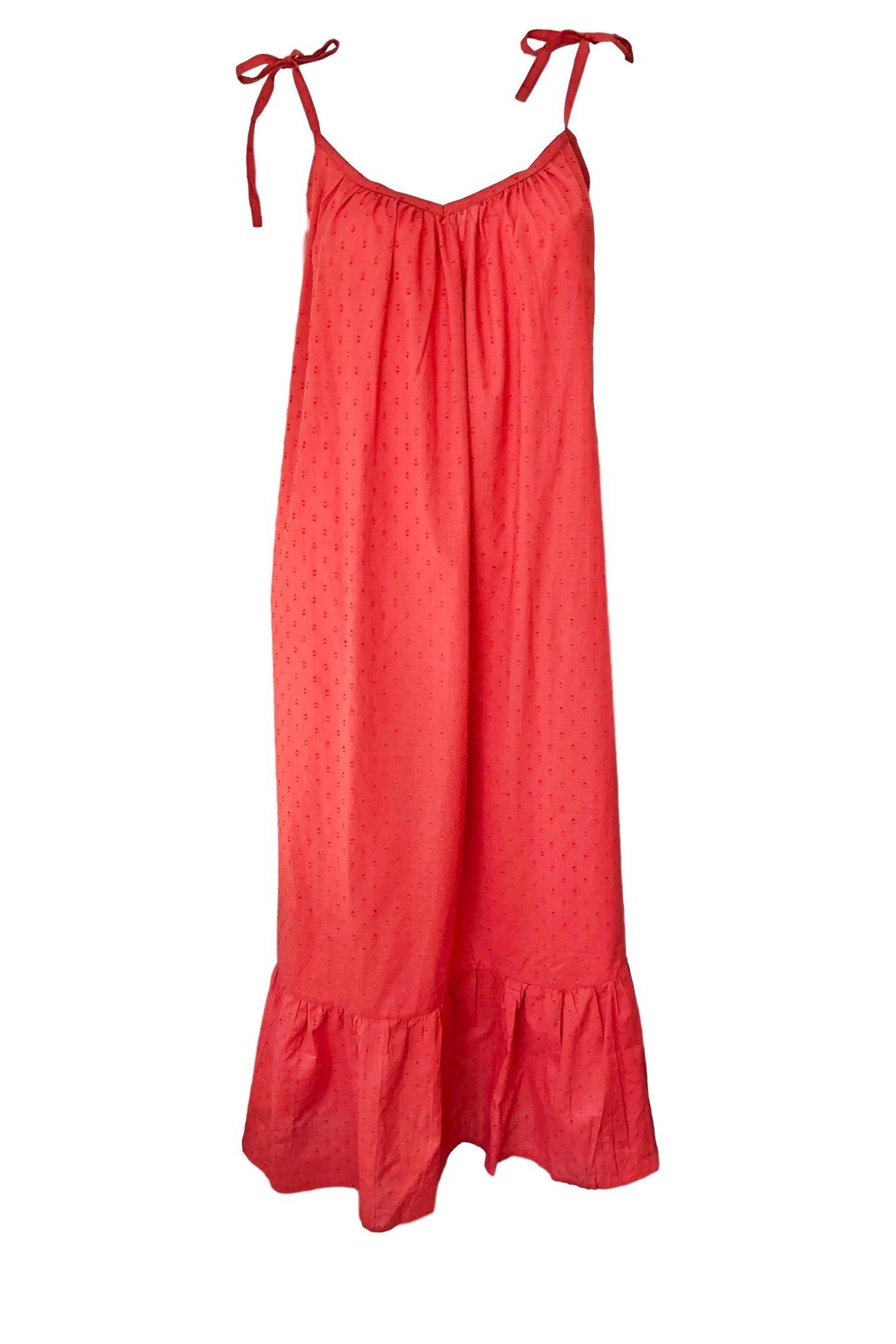 Emerson Fry India Dress - Back Cropped Image