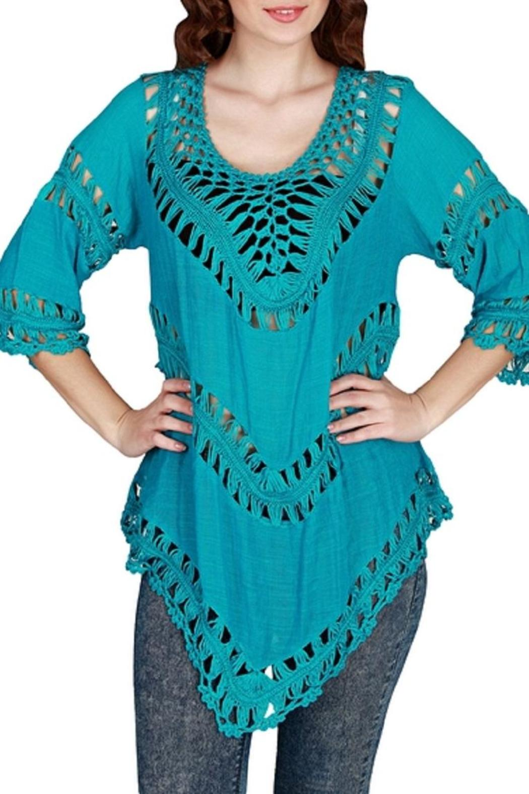 1f582b9236cfb India Boutique Awesome Crochet Top from Florida by Ocean Bri ...