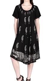 India Boutique Black Batick Dress - Product Mini Image
