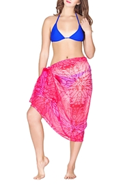 India Boutique Sarong Beach Wrap - Front cropped